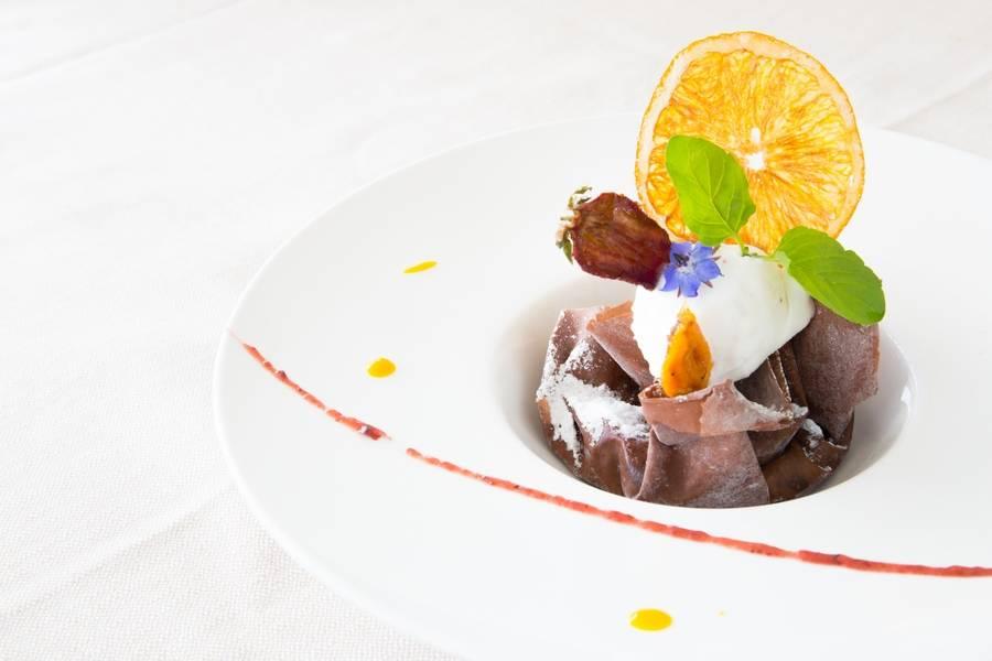 Dessert al cioccolato  Ristorante Zi Rosa Riccione