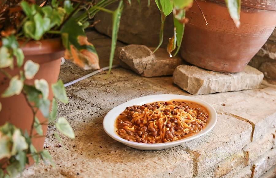 Tagliatelle con i fagioli a Pesaro