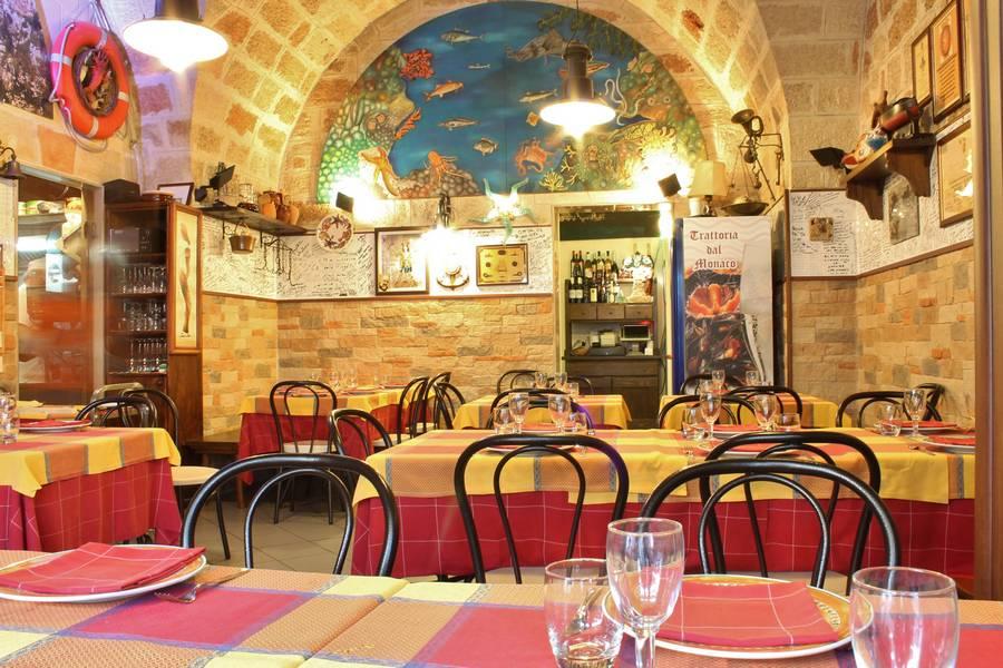 Sala rustica Trattoria Dal Monaco Polignano a Mare Bari