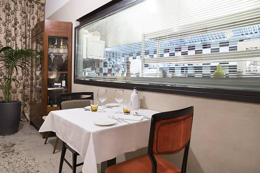 La bul bari ristoranti raffinati men e recensione - Cucina con vetrata a vista ...