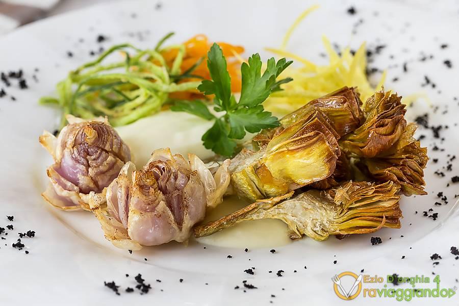 Piatto vegetariano Ristorante U Curdunn Locorotondo Bari