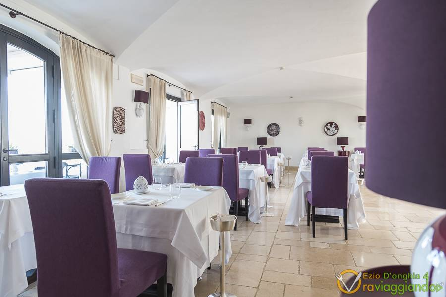 Sala da pranzo Ristorante White Borgobianco Resort & Spa Polignano a Mare foto 2