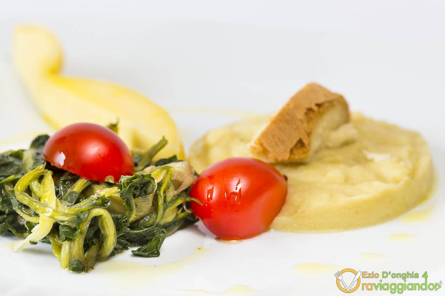 Antipasto vegetariano Ristorante l'Aratro Bari