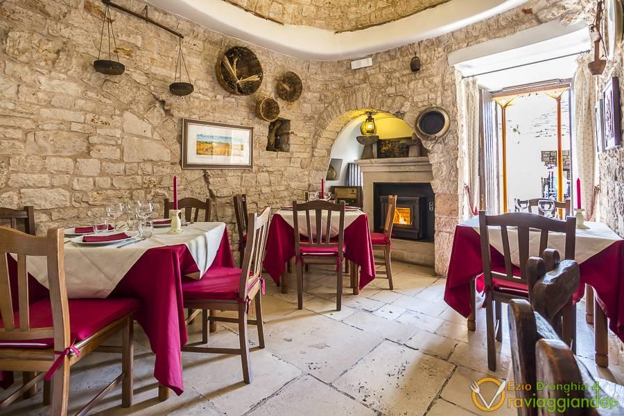Sala da pranzo Ristorante l'Aratro Bari
