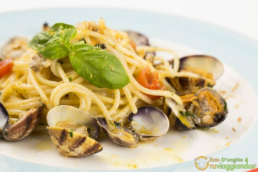 Spaghettoni con le vongole Ristorante Al Pescatore Bari foto 5