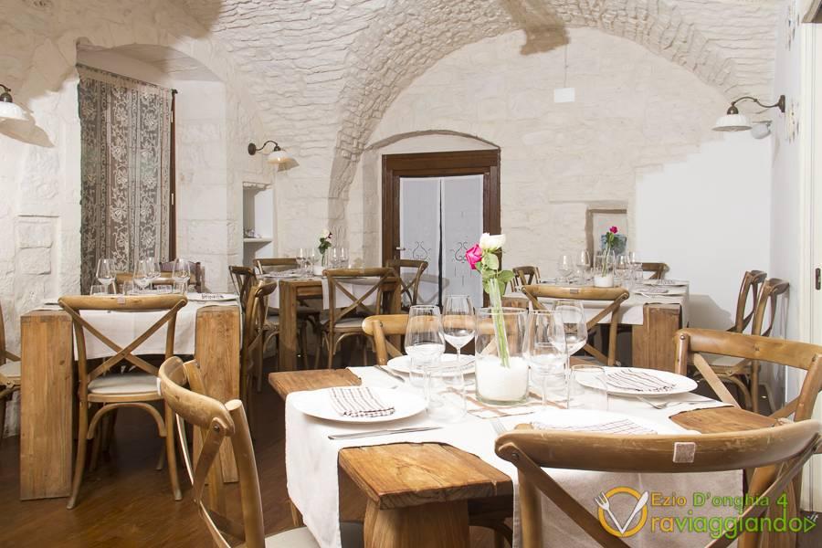 Dettaglio tavolo 2 Ristorante U Curdunn Locorotondo Bari