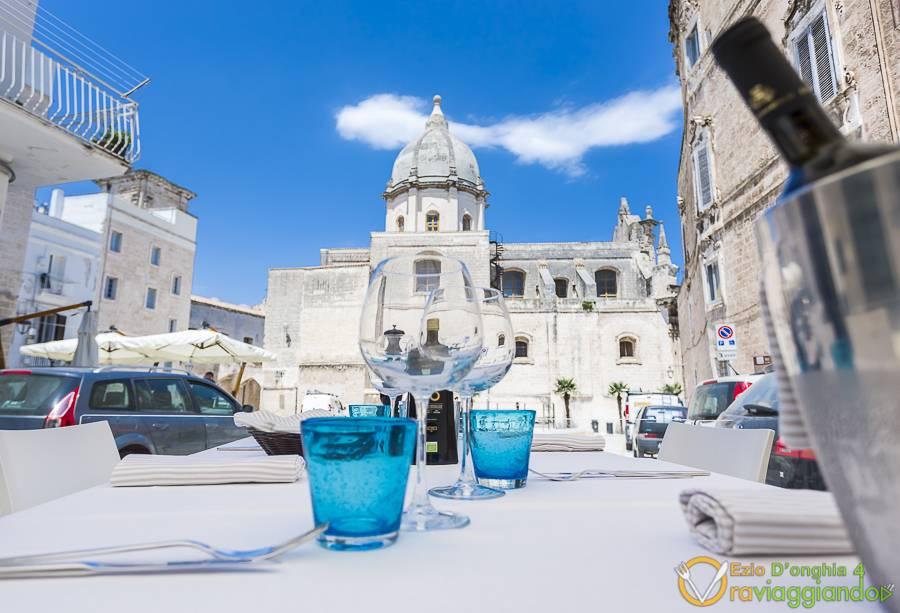 Vista cattedrale Ristorante Piazza Palmieri Monopoli foto 6