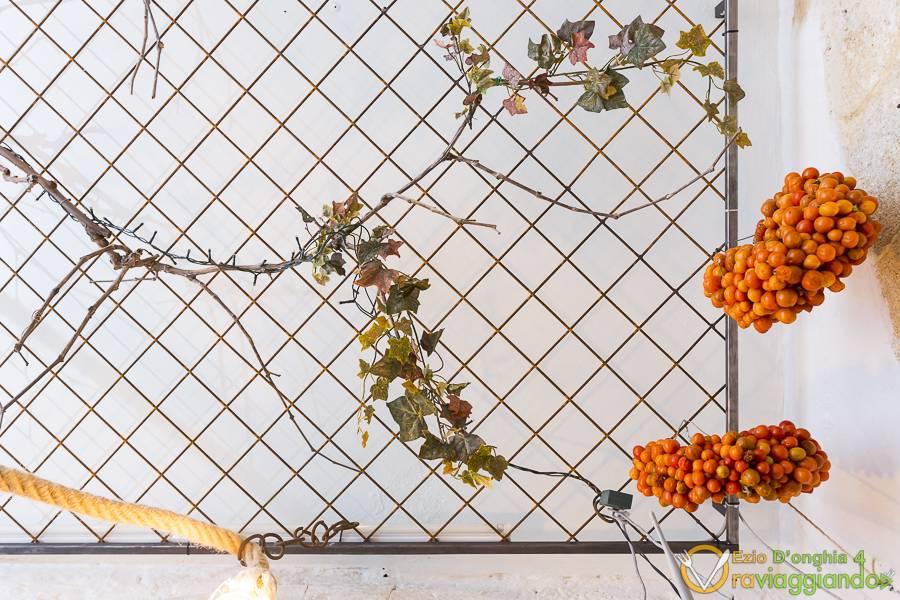 Pergolato tipico pugliese Ristorante La Prèule Canosa di Puglia foto 2