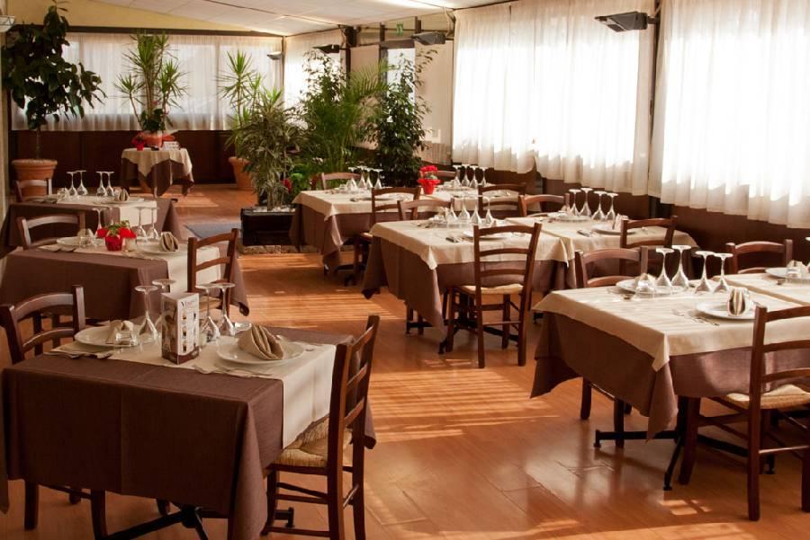 Sala da pranzo Ristorante Antica Boschiera Piazzola sul Brenta