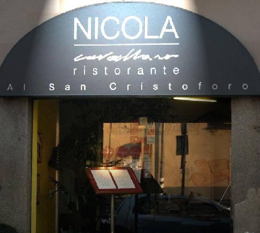 Nicola Cavallaro Ristorante Al San Cristoforo