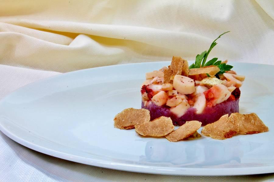 Antipasto gourmet  Controcorrente Osteria di Mare Morciano di Romagna