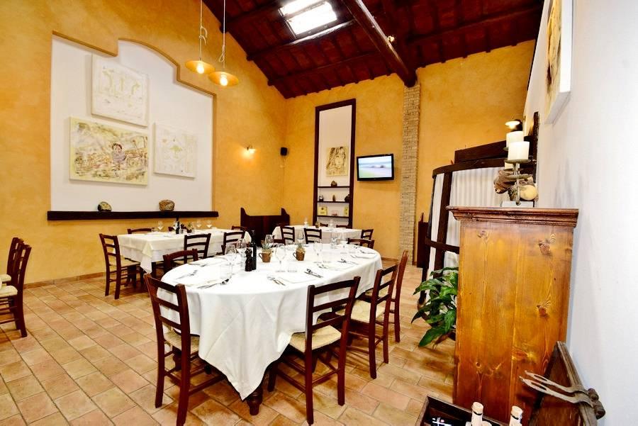 Sala da pranzo  Controcorrente Osteria di Mare Morciano di Romagna