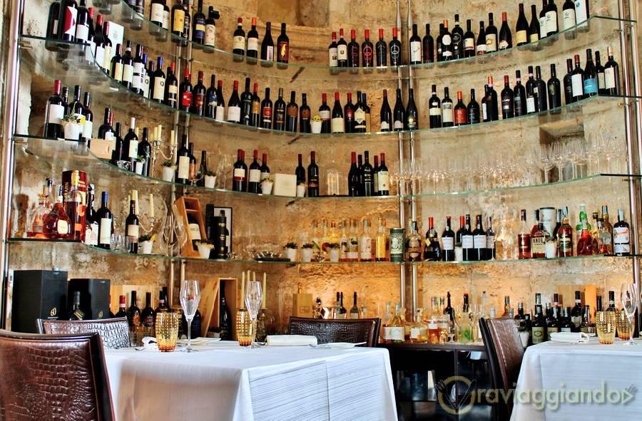 Vini e distillati Ristorante Le Lampare Al Fortino Trani