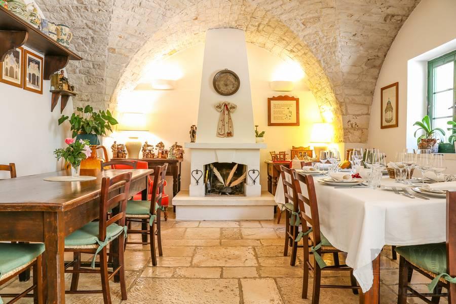 Ristorante Il Frantoio Ostuni Masseria con cucina