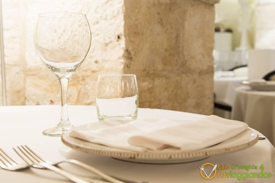 Dettaglio tavola Bina ristorante di Puglia Locorotondo Bari