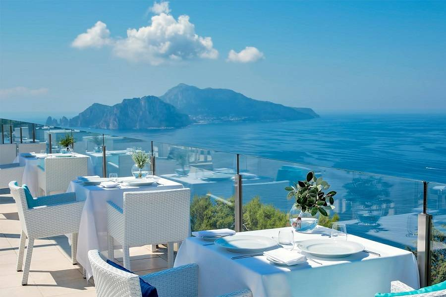 Relais Blu Belvedere Restaurant opinioni e recensioni - Massa Lubrense