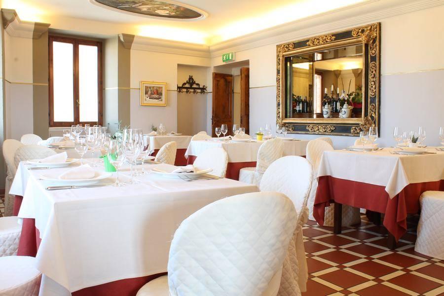 Sala da pranzo Da Matteo Osteria Ristorante  Montemaggiore al Metauro