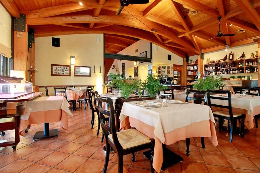 Sala da pranzo Ristorante La Fratta San Marino