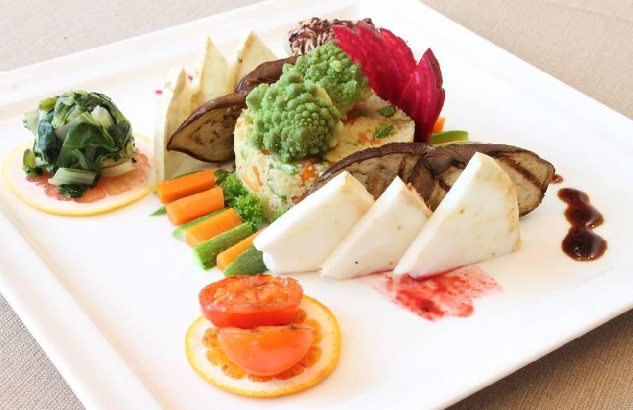 Antipasto vegetariano Ristorante Vivo San Marino