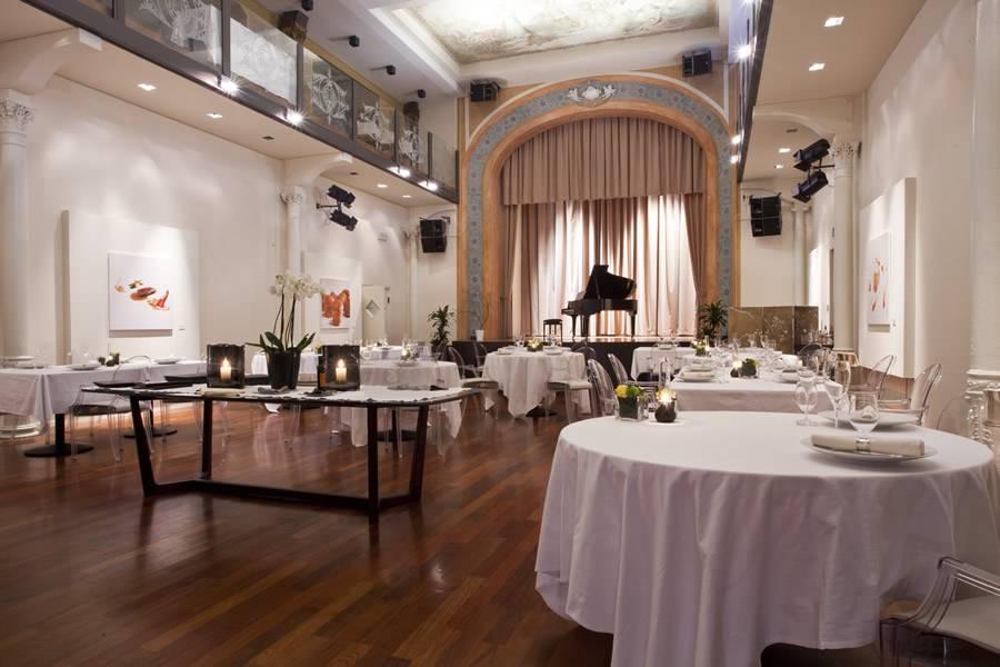 Sala da pranzo Ristorante I Portici Bologna