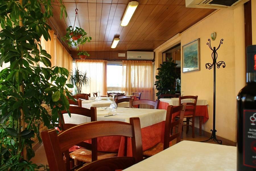 Sala da pranzo Ristorante Trattoria Al Coniglio Rimini
