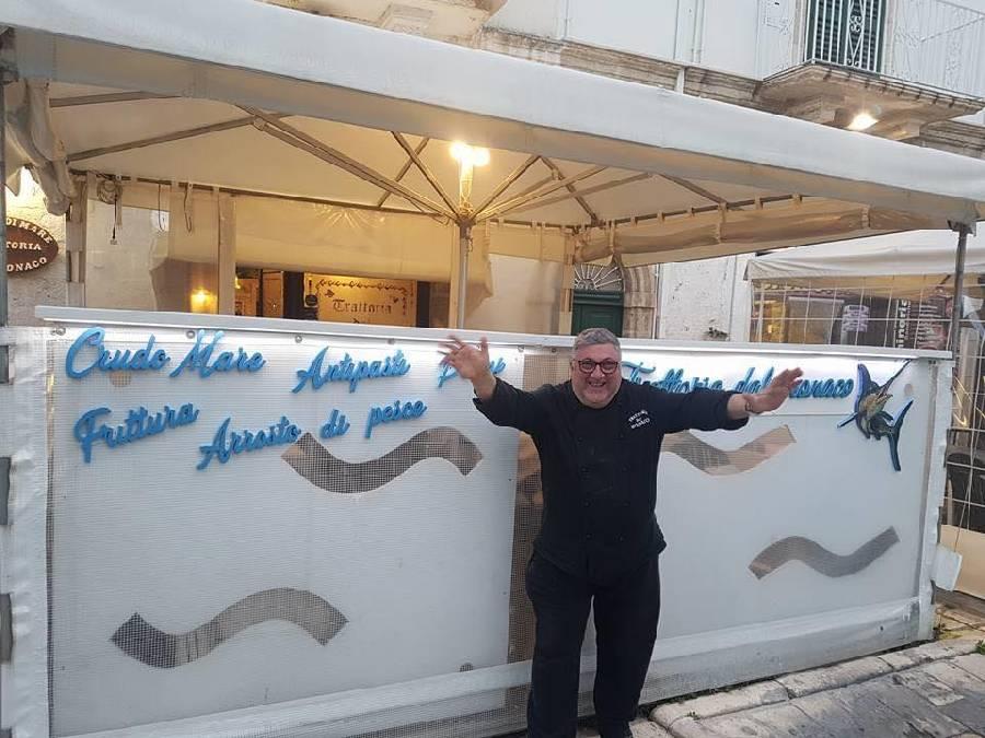 Trattoria dal Monaco Polignano a Mare pesce