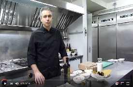 Spaghetti alla Carbonara rivisitata - chef Michele Clementi