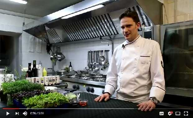 Ricetta con Mazzancolle ristorante Dall'oste del Convivium Bari